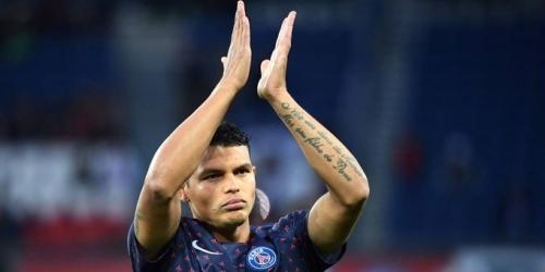 Thiago Silva elegido mejor jugador extranjero en Francia