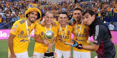 Tigres se consagra Campeón de Campeones en México