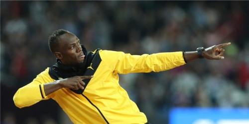 Usain Bolt entrena con el Borussia Dortmund