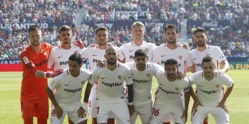 (VIDEO) A domicilio, el Sevilla goleó al Levante