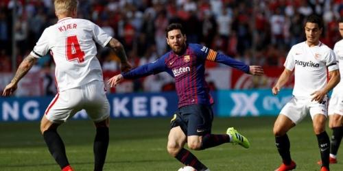 (VIDEO) A lo Messi el FC Barcelona lo da vuelta frente al Sevilla