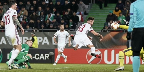 (VIDEO) AC Milan derrota de visitante al Ludogorest