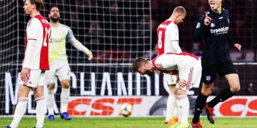 (VIDEO) Ajax deja escapar el liderato de la Eredivisie ante el Heerenveen