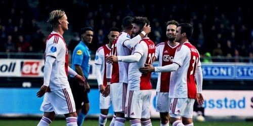 (VIDEO) Ajax goleó al Excelsior y no quiere alejarse de la punta