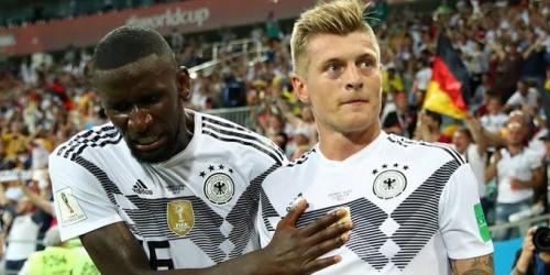 (VIDEO) Alemana revive con la victoria de 2 a 1 frente a Suecia