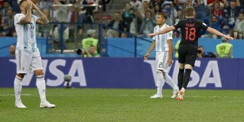 (VIDEO) Argentina cae goleada ante Croacia y está casi eliminada del Mundial