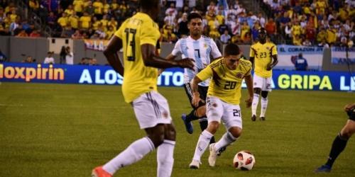 (VIDEO) Argentina y Colombia empatan en partido amistoso