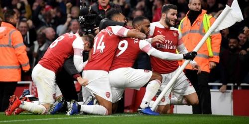 (VIDEO) Arsenal da la vuelta al marcador y terminó derrotando al Tottenham