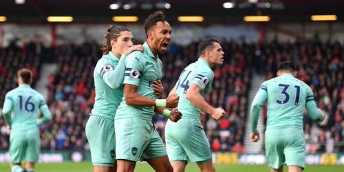 (VIDEO) Arsenal logró llevarse la victoria ante el AFC Bournemouth en partido complicado