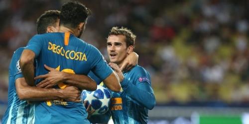 (VIDEO) Atlético de Madrid da la vuelta al marcador y derrota 2 a 1 al Mónaco