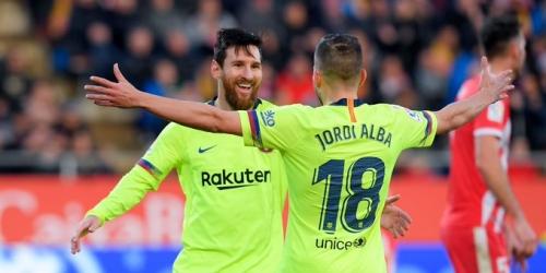 (VIDEO) Barcelona de visita gana 2 a 0 al Girona