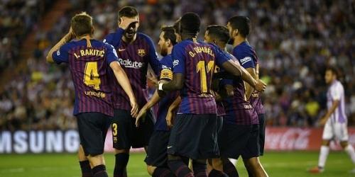 (VIDEO) Barcelona golea y alcanza al Real Madrid