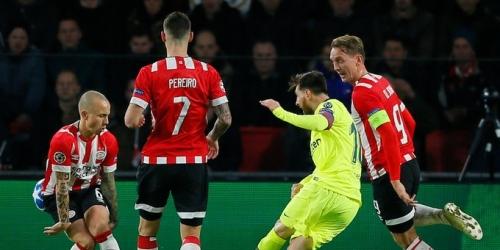 (VIDEO) Barcelona se apodera del grupo al ganar 2 a 1 al PSV