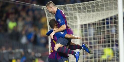 (VIDEO) Barcelona sin Messi derrota al Inter y está como único puntero