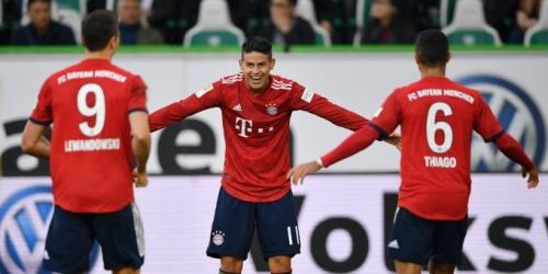 (VIDEO) Bayern Múnich retoma el camino de la victoria y derrota al Wolfsburg