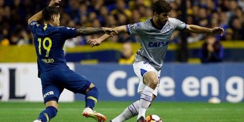 (VIDEO) Boca Junior vence 2 a 0 a Cruzeiro y ya piensa en semifinales