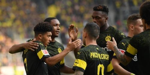 (VIDEO) Borussia Dortmund no afloja la punta y golea al Stuttgart