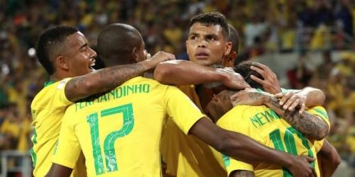 (VIDEO) Brasil termina como líder en su grupo y ya piensa en México