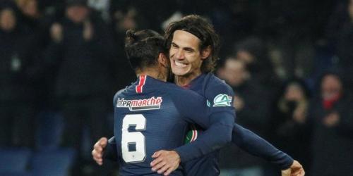 (VIDEO) Cavani y Di María meten al PSG en la siguiente fase de la Copa de Francia