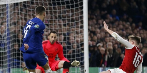 (VIDEO) Chelsea empata ante el Arsenal por League Cup de Inglaterra
