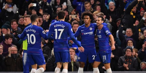 (VIDEO) Chelsea no quiere apartarse de la punta y derrota al Newcastle