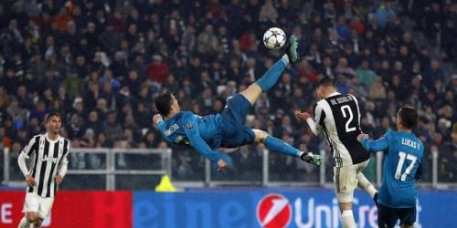 (VIDEO) Chilena de Ronaldo elegida el mejor gol de la temporada