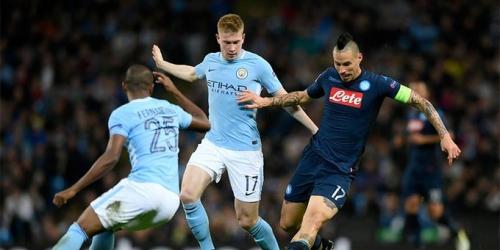 (VIDEO) City vence al Napoli en Champions League