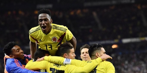 (VIDEO) Colombia remonta un marcador adverso frente a Francia y gana