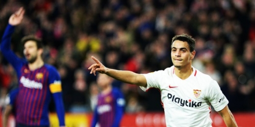 (VIDEO) Con doblete el Sevilla sorprende al Barcelona