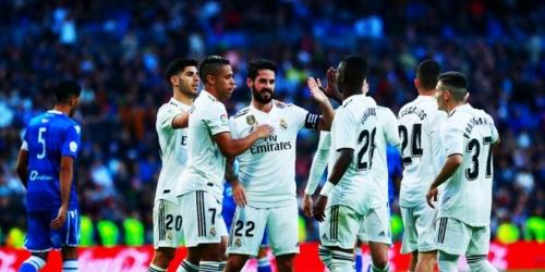 (VIDEO) Con goleada el Real Madrid avanza en Copa del Rey
