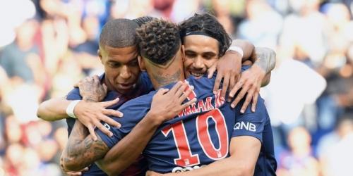 (VIDEO) Con goles de Cavani, Mbappé y Neymar PSG ganó 3-1 al Angers