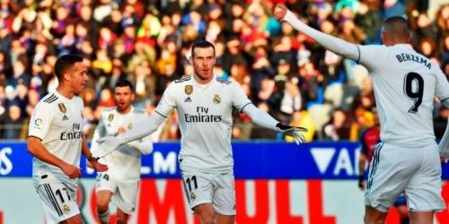 (VIDEO) Con la mínima diferencia, el Real Madrid derrota al Huesca