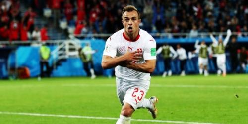 (VIDEO) Con un gol agónico Suiza ganó a Serbia