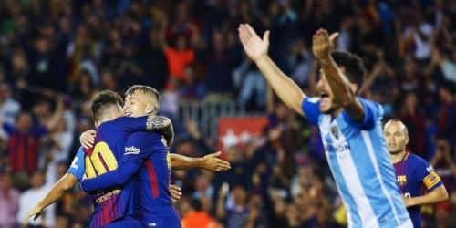 (VIDEO) Con un juego apagado Barcelona gana al Málaga