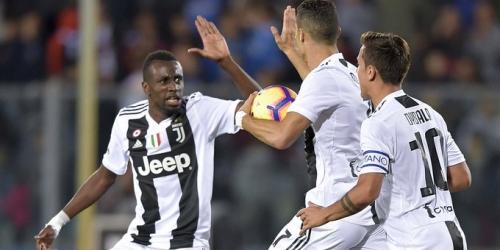 (VIDEO) Con un misil desde fuera del área, Ronaldo da la victoria a la Juventus