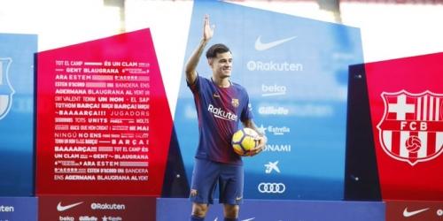 (VIDEO) Coutinho tiene su presentación anhelada