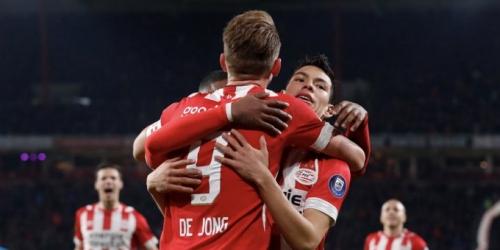 (VIDEO) De Jong ayuda al PSV con la victoria 11 en la liga y a mantener la punta