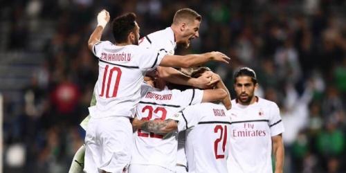 (VIDEO) De visita, el Milán venció al Sassuolo