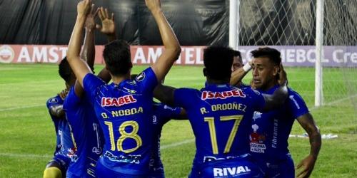 (VIDEO) Delfín de Ecuador gana en el estreno de la Copa Libertadores