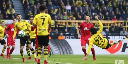 (VIDEO) Dortmund logra un empate agonizante