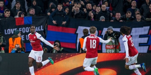 (VIDEO) El Arsenal empató ante el CSKA Moscú y clasificó a las Semifinales de la Europa League