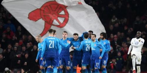 (VIDEO) El Arsenal FC clasificó a los Octavos de Final de la Europa League pese a que perdió