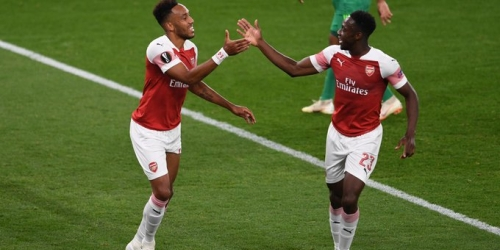 (VIDEO) El Arsenal ganó 4-2 al Vorskla por el grupo E de la Europa League