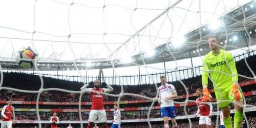 (VIDEO) El Arsenal golea al Stoke City por la Premier League