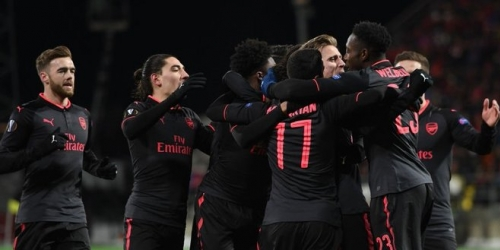 (VIDEO) El Arsenal le ganó al Östersunds en la Europa League