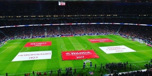 (VIDEO) El Atlético de Madrid gana y estrena nueva casa
