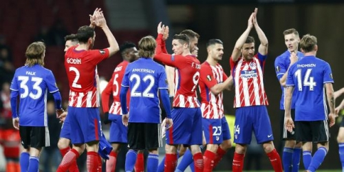 (VIDEO) El Atlético le ganó al Copenhague y avanzó a los Octavos de Final de la Europa League