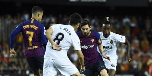 (VIDEO) El Barça cede el liderato en La Liga