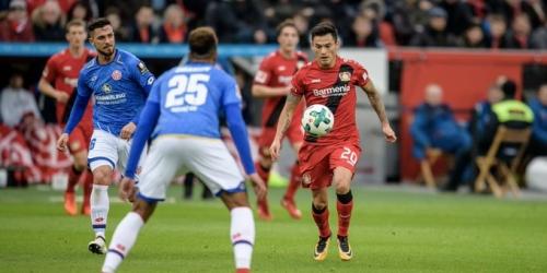 (VIDEO) El Bayer Leverkusen le ganó al Mainz y quedó segundo en la Bundesliga