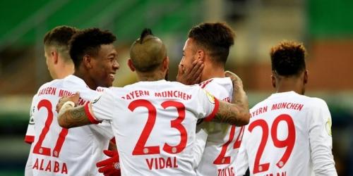 (VIDEO) El Bayern Múnich goleó al Paderborn en la Copa alemana
